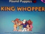 Title screen for King Whopper