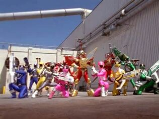 Lightspeed Rescue and Time Force