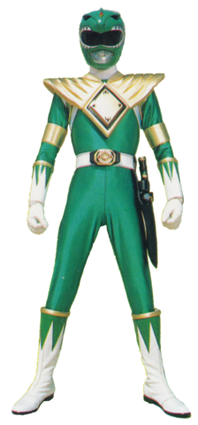File:Green Mighty Morphin Power Ranger.png