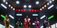 Time Force Megazord (Power Rangers Time Force)