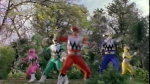 "Power Rangers Lost Galaxy ""The Lost Galaxy"" promos"