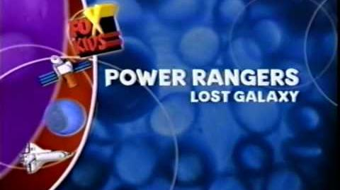 "Power Rangers Lost Galaxy ""Homesick"" to ""Orion Returns"" episodics"