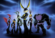 The Loonatics Team