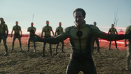 Eobard brings a multitude of time remnants to face the Legends