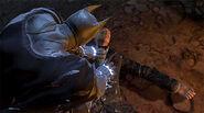 Shock Gloves on Alfred