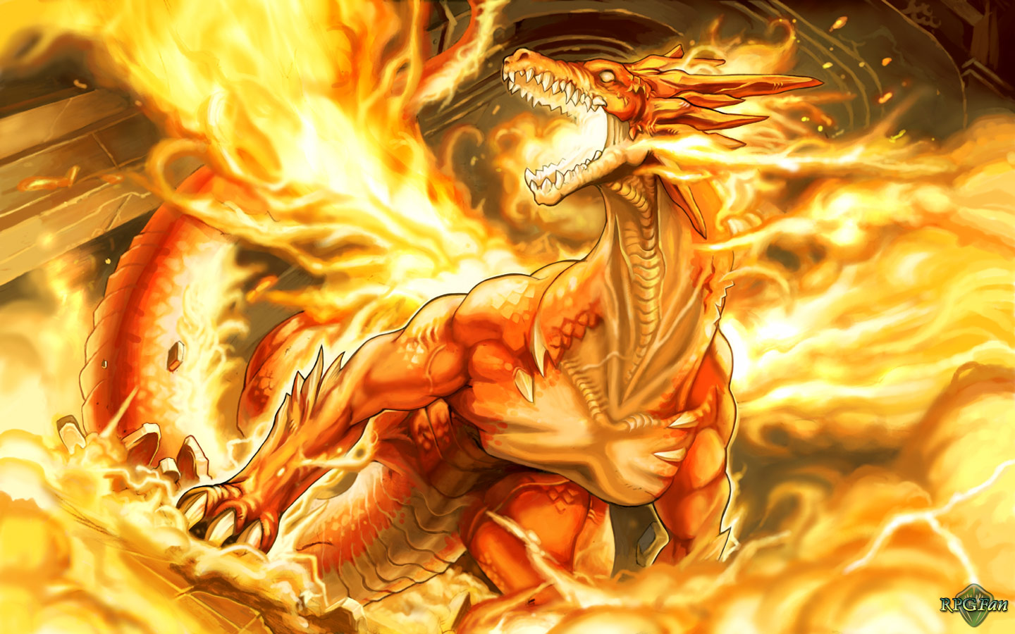 Download Fire Dragon Wallpaper For Samsung Epic