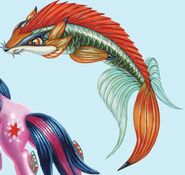 Under the Sparking Sea fox fins