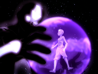 File:Aang and his cosmic Avatar Spirit.png