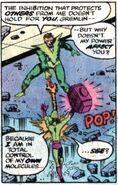 Molecule Man vs. Impossible Man