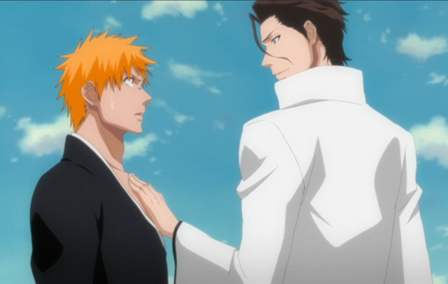 File:Aizen Ichigo too close-1-.png