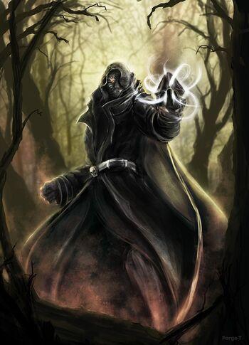 Dark mage by forge t-d4wl9c3
