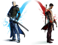 DMC Vergil and Dante