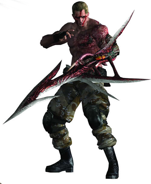 arm blade name. krauser arm blade name i