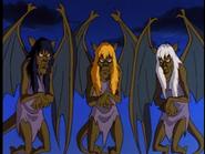 Weird Sisters Gargoyles 01