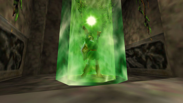 File:Link Using Farore's Wind.png