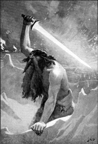 File:Surtr Norse Mythology BW.jpg