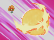 Bart Castform Weather Ball Fire