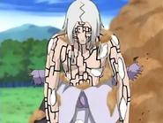 Kimimaro's bone armor