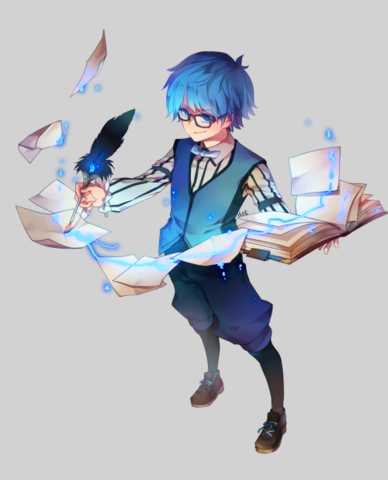 File:Caster writing a story.png