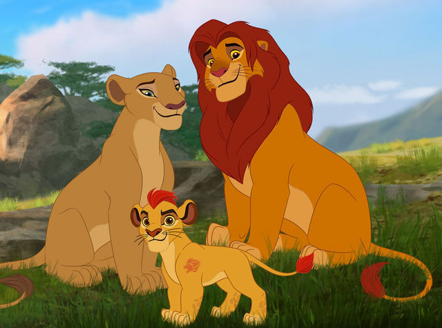 File:Simba, Nala and Kion.jpg