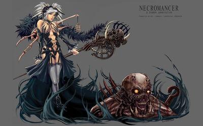 Necromancer Summon Abomination by LoneWolf64