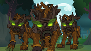 The timberwolves about to eat Spike S3E9