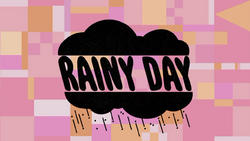 Rainy Day Title Card HD
