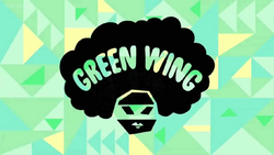 Green WingCard