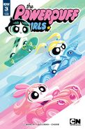 Powerpuff Girls (2016) issue 3 subscription cover