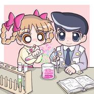 Kuriko and Ken by cc kk