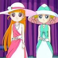 Kawaii Miyako and Momoko-chans