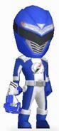 Blue Overdrive Ranger in Power Rangers Dash