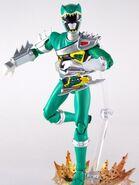 Dino Steel Green Dino Charge Ranger SH Figuarts