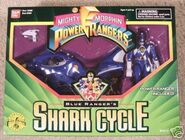 Blue Ranger's Shark Cycle