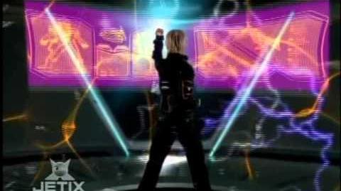 Power Rangers Operation Overdrive - Mercury Ranger Morph