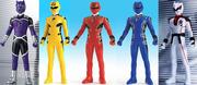 Gekiranger Sentai Vinyl Figure