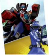 Road Attack Zord Megazord Madness