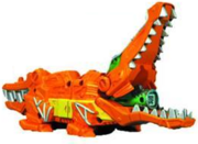 Dino Super Charge Crocodile Zord