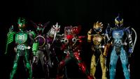 Gokai Change - Kamen Rider OOO