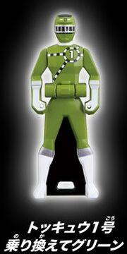 ToQ 1 Green Ranger Key