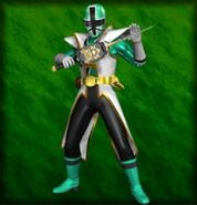 Super Shinken Green (Dice-O)