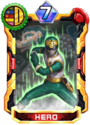 Shishiranger Card in Super Sentai Legend Wars