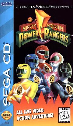 Power Rangers Sega CD