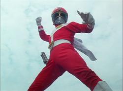 GoggleRed Gaoranger vs. Super Sentai