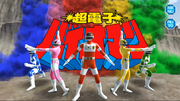 Choudenshi Bioman in Super Sentai Legend Wars