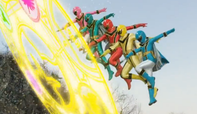File:Magiranger in Super Hero Taisen.png