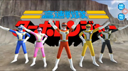 Kousoku Sentai Turboranger in Super Sentai Legacy Wars