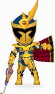 Solaris Knight in Power Rangers Dash