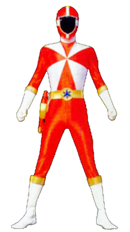 File:Red Lightspeed Ranger & GoRed.png