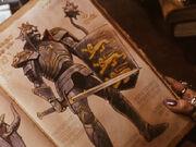 Knasty Knight in Finster's Book
